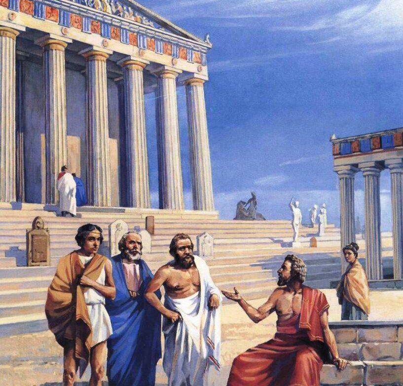 Дела адвокатов в Древней Греции